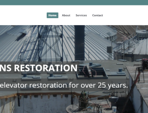 Lead Website Design launches new site for Pickens Restoration
